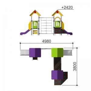 Игровой комплекс Romana 104.12.00-02