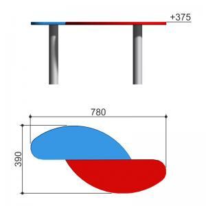 Столик для песочницы Romana 302.12.00