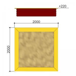 Песочница 2X2 Romana 109.01.03