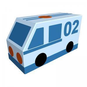 Контурная игрушка «Полиция» ДМФ-МК-01.23.03