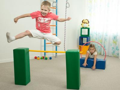 Мягкий спортивный модуль  «Прыг-скок» ДМФ-МК-02.89.20