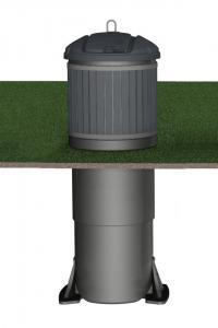 Контейнер заглубленного типа Molok Classic 1300 л