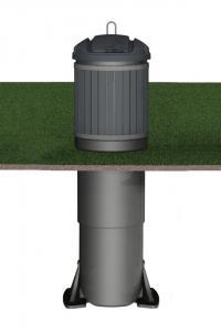 Контейнер заглубленного типа Molok Classic 800 л