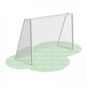 Ворота для игры в мини-футбол и гандбол (сетка в комплекте) Romana 203.08.00