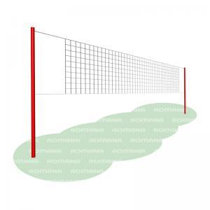 Волейбольная сетка со стойками Romana 204.17.00