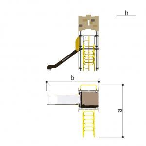 Игровой комплекс Башня Romana 101.82.01