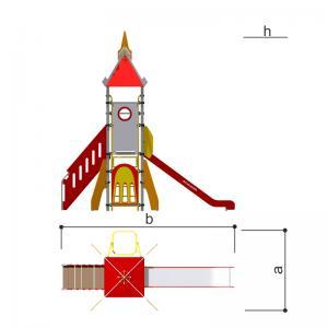 Игровой комплекс Ракета Romana 101.95.00