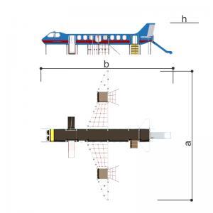 Игровой комплекс Авиалайнер Romana 101.98.00