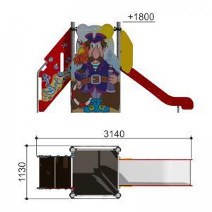 Горка Пират h950 Romana 110.12.00-01