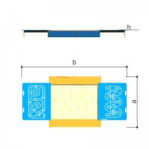 Песочница с раздвижными  крышками (принт) Romana 109.35.00