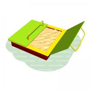 Песочница с крышками Romana 109.22.00