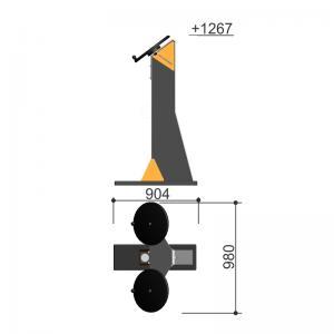 Тренажер для укрепления рук Romana 207.40.01