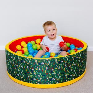 Сухой бассейн «Веселая поляна» без шариков