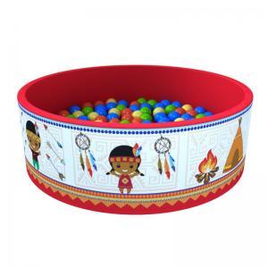 Сухой бассейн «Индейцы» 100 шариков