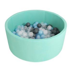 Сухой бассейн с шариками «Airpool» 150 шариков (бирюзовый) ДМФ-МК-02.53.01