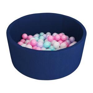 Сухой бассейн с шариками «Airpool» 150 шариков (темно-синий) ДМФ-МК-02.53.01