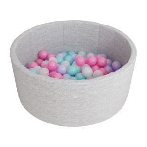 Сухой бассейн с шариками «Airpool» 150 шариков (серый)