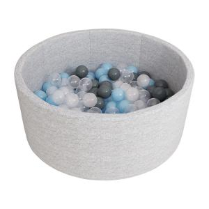 Сухой бассейн с шариками «Airpool» 150 шариков (серый) ДМФ-МК-02.53.01