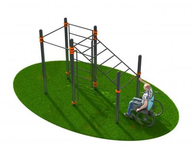 Спортивный комплекс для инвалидов-колясочников СВС-124