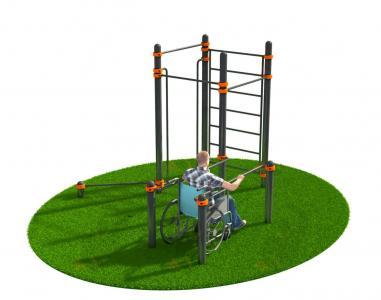 Спортивный комплекс для инвалидов-колясочников СВС-127