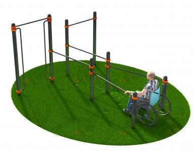 Спортивный комплекс для инвалидов-колясочников СВС-128