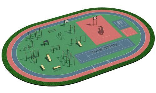 Спортивная площадка для ВФСК и ГТО 3