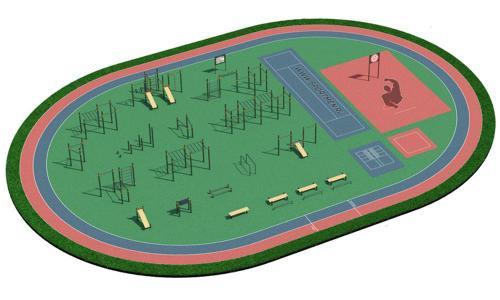 Спортивная площадка для ВФСК и ГТО 5
