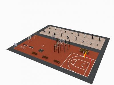 Оснащение спортивной площадки согласно 101 приказу Минспорта России
