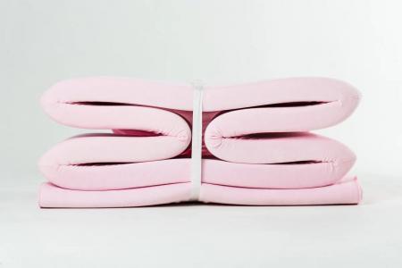 Сухой бассейн Romana Airpool BOX (розовый)