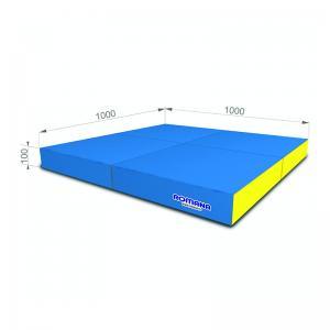 РОМАНА Мягкий щит (Мат) 1000*1000*100, в 4 сложения