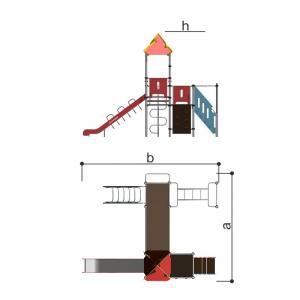 Игровой комплекс Romana 101.10.09