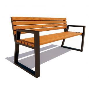 Скамейка с подлокотниками Кёльн