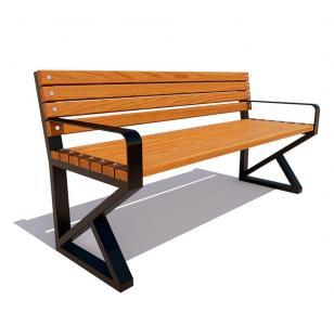 Скамейка с подлокотниками Королев