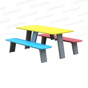 Стол со скамьями (детский) Romana 302.35.00