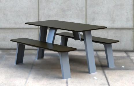 Стол со скамьями Romana 302.34.00