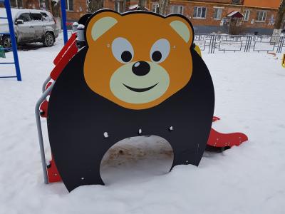 Горка Медведь h650 Romana 110.10.00