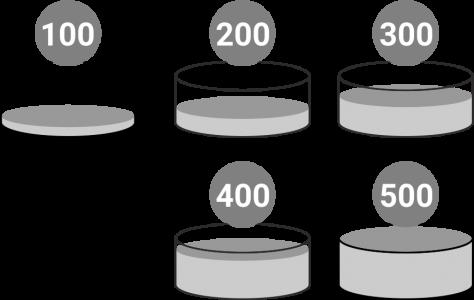 Сухой бассейн с шариками «Веселая поляна» 150 шариков