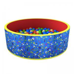 Сухой бассейн с шариками «Веселая поляна» 100 шариков