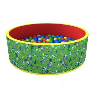 Сухой бассейн с шариками «Веселая поляна» 100 шариков ДМФ-МК-02.51.02