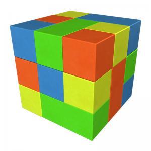 Мягкий конструктор «Кубик-рубик» ДМФ-МК-13.90.29